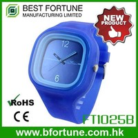 FT1025B design your own factory watch male silicone Strap ABS case Removable quartz mens hand watch brand