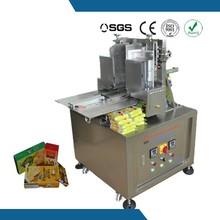 Chinese semi automatic hot melt glue box sealing machine