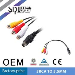 SIPU hdmi to 3.5mm video usb to plug cable mini usb to 3.5mm jack adapter