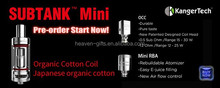 Factory price and stock ego one kit/kanger subtank min tank fit for Istick 30W/istick 50W and Smoktech M80 plus