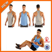 Best Quality Superman Custom Logo Men Tank Top Gym BodyBuilding Stringer Tank Top