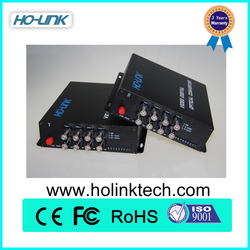 Video Converter Fiber Optic Video Converter Transmit Video over Fiber Composite RCA to HDMI Converter