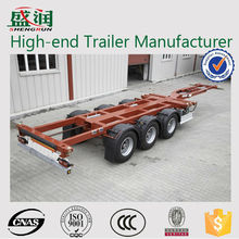 Skeleton semi-trailer trucks transportation truck