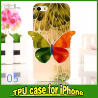 newest TPU color printing 3D case for iphon5s for iphone 6 6plus