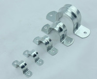 American Type Hose Clamp,Vertical Wall Mount Pipe Clamp,Metal Cable Clamps