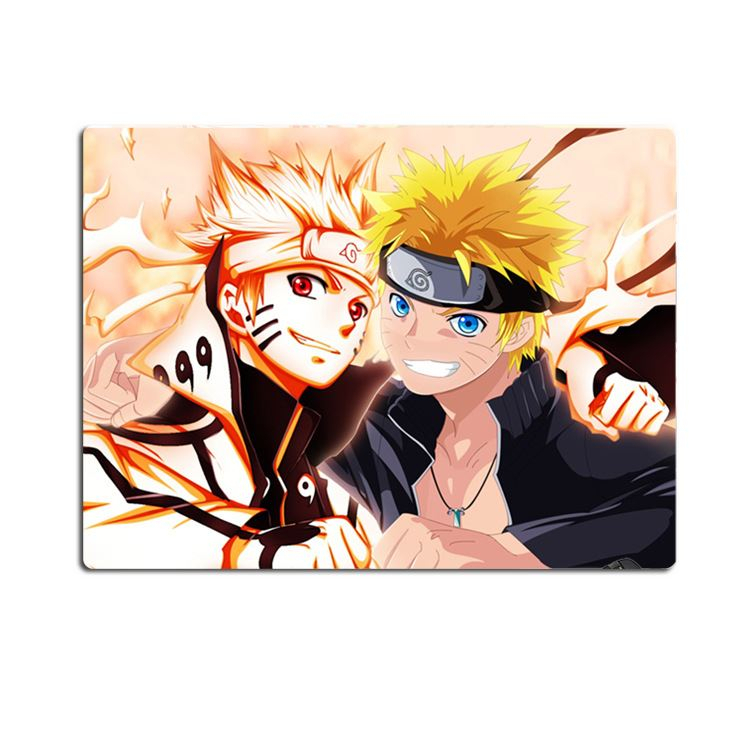 nuovo uzumaki ninja anime gaming mouse pad tappetino multiuso gzfp06 deluxe