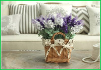 New style Crazy Selling high quality artificial lavender plant