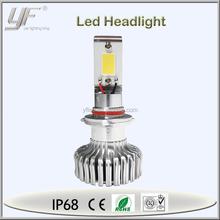 12V 9006 50W led headlight for car, 2 X 25W cheap led headlight for car on sale