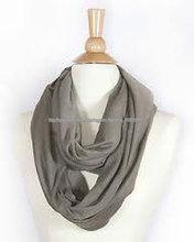Pañuelos 100% algodón tejido infinito pañuelo patrón