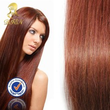 Best selling fashion human hair weave,beatiful red brazilian hair extension for women