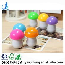 Creative Novel Fashion promotional mushroom shape ball pen gift for children