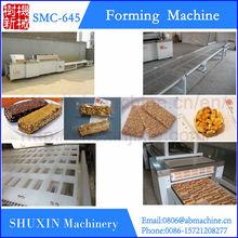 Healthy snack peanut candy bar making machine,rice cake forming machine,cereal cake machine