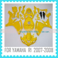 Motorcycle Fairing for YAMAHA R1 2007-2008 yellow look
