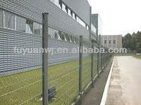 Wire mesh roll fence powder coated fasteners manufacturer on sale