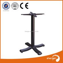 light coffee table base cast iron 4 feet design patio furniture leg