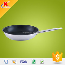 2015 hot sell stainless steel teflon select non-stick frypan set
