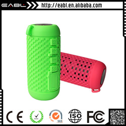 Super bass vatop bluetooth speaker with led light with silicon housing