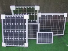 25W monocrystalline silicon Solar Panel and 12V 10A solar charge controller use for battery charging 12V solar power system