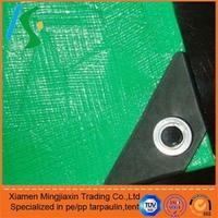 Silver high quality alumium eyelets tarpaulin, aluminum foil coated fabric,waterproof tarps