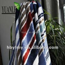 Fashion design 100% Cotton blanket