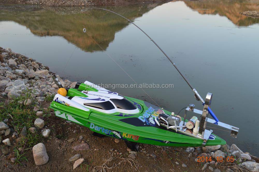 Portable automatic remote control fishing bait boat buy for Remote control fishing boats