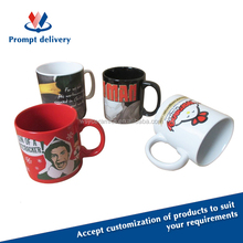 2015 hot-selling full color printing ceramic promotional coffee mug, FDA, LFGB, CA65,84/500/EEC approved