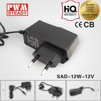 ac adaptor 230v DC 12v outdoor power adapter set top box power adapter