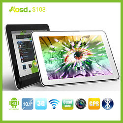 2014 newest MTK6589 android built in 3g dual sim card ips Quad core sex video 3g tablet pc