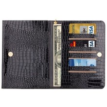 8.0 Inch Universal Crocodile Texture Wholesale Case for ipad mini with Wallet & Card Slots