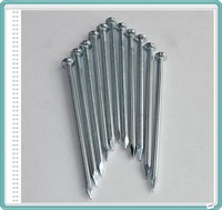 Galvanized spiral groove shank concrete steel nails