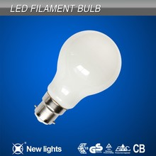 High quality products 4w B22 Milky glass led filament bulb