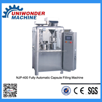 NJP-200/400/800 Fully Automatic hard gelatin pharma powder Capsule Filling Machine