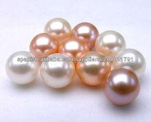 2014 al por mayor de perlas perlas cultivadas de agua dulce