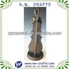 violonchelo resina <span class=keywords><strong>escultura</strong></span> jugador