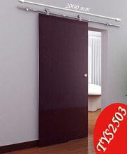 stainless steel modern barn door hardware for wooden sliding doors