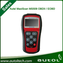 MS509 MaxiScan code OBD scanner latest version 2014 Work on US, European and Asian vehicles