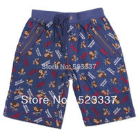 boys pants D2805# 5pieces/lot 2014 fashion nova kidswear cotons printed cartoon characters printed boys summer short