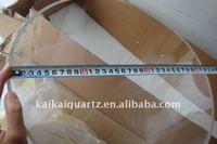 large diameter quartz glass tubing