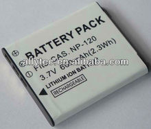 Rechargeable Camera battery for CAS NP-120