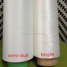 cd polyester yarn (its semi dull for top grade light fastness)