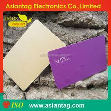 cheap sample free 125khz 13.56mhz uhf pvc plastic rfid card