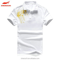 100% polyester custom design made in China cheap short sleeve sublimation dri fit fabric fashion sport polo t-shirt