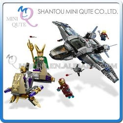 Mini Qute Senye Marvel Avenger super hero Loki Thor Battle building block action figures educational toy NO.SY 327