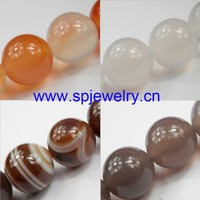natural stone agate, 6-12mm, sold per strand