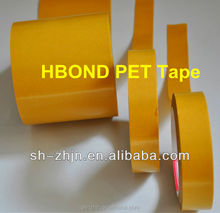 Transparent PET film acrylic adhesive double sided polyester tape