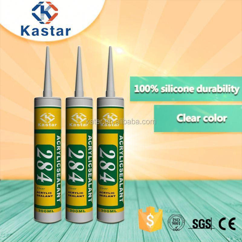 clear siliconized acrylic sealant,translucent color acrylic adhesive,40-year warranty acrylic sealant