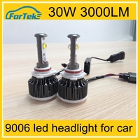 2015 new led auto headlight high power led headlight bulb 9006