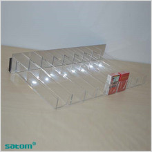 Hign quality Hot sale acrylic tobacco display tobacco display rack the fixture shop