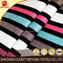 Hot selling polyester linen look sofa fabric & cushion cover