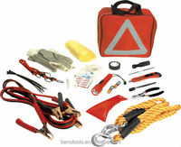 OEM Factory Customized Auto Roadside Emergency Safety Kit With Flash Light